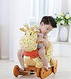 Labebe Schaukeltier Giraffe mit Rädern - 2