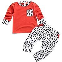 Borlai 1-6 años Trajes Casuales para niños pequeños Camisa de Manga Larga Pantalones chándal