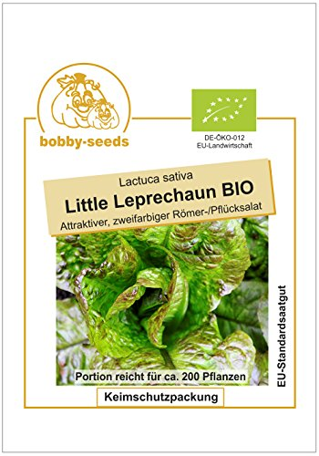 Bobby-Seeds BIO-Salatsamen Little Leprechaun Romanasalat Portion