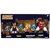 TOMY Sonic The Hedgehog 3' Collector 3 Figure Pack with 3 Chao