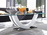 Couchtisch Beistelltisch Wohnzimmertisch Sofatisch Ablagetisch Tisch 'Kermie I' Weiß