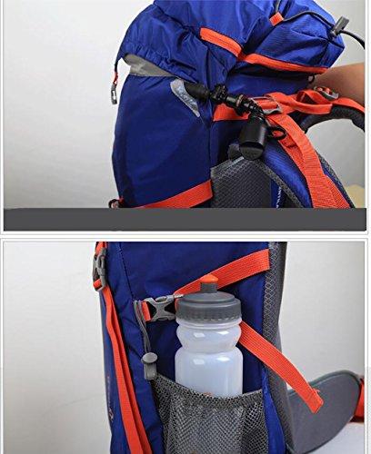 zaino trekking Outdoor Alpinismo borsa a tracolla Uomini E Donne Bag walking outdoor multiuso Viaggi sacchetto esterno Zaino 50L Zaini da escursionismo ( Colore : C ) C