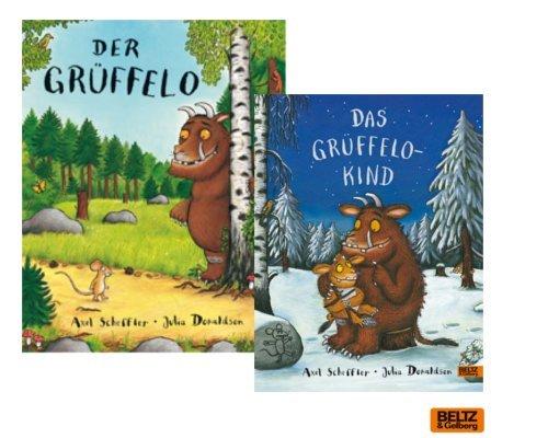 """Kinderbücher: Bestseller """"Der Grüffelo"""" + Fortsetzung """"Das Grüffelokind"""" im Bücherset"""