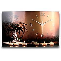 Creativos Muelle wag125F Buda–Radio reloj de pared, fabricado en Alemania