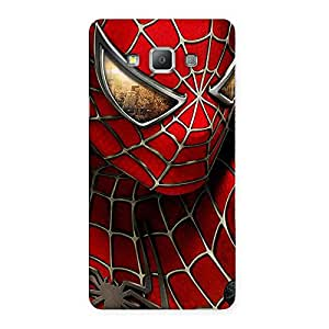 Impressive Spide Two Red Back Case Cover for Galaxy A7