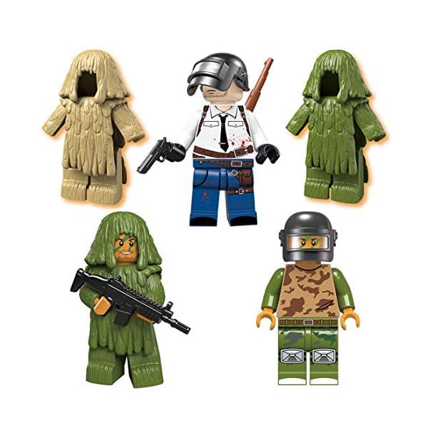 YVSoo Figuras de Juguete Playsets Personas Figuras de Acción Juegos de Construcción Muñecos Juguete para Niños Bebé 2