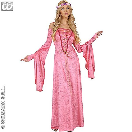 (Widmann 7213F, Erwachsenen Kostüm Hofdame Renaissance VIOLETTE, Größe M / 40-42)