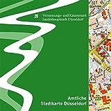 Amtliche Stadtkarte Düsseldorf, 1 CD-ROM Hrsg. v. Vermessungs- u. Katasteramt Landeshauptstadt Düsseldorf