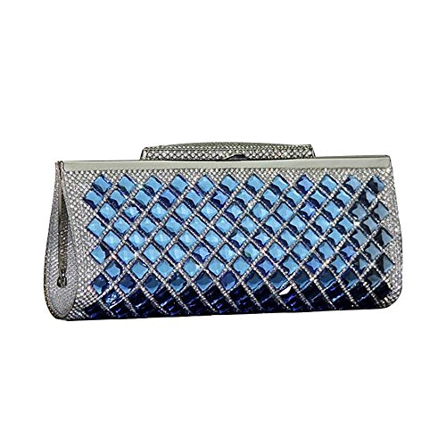 SSMK Evening Bag, Poschette giorno donna Blue
