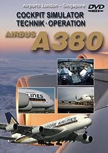 Airbus A380 Singapore Airlines Cockpitflight Simulator Technik Operation