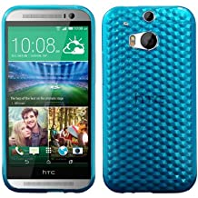 Luxburg® HTC One M8 Custodia Diamant - Bleu Clair