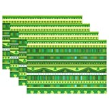 GOODSTHING napperon, Happy St.Patrick's Day Green Pattern Placemats for Dining Table...