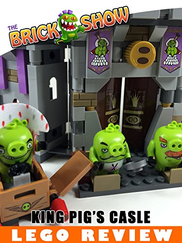 LEGO Angry Birds King Pig's Castle Review (75826) [OV]