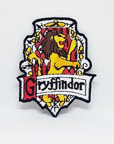 Parche bordado coser planchar Harry Potter Gryffindor-A