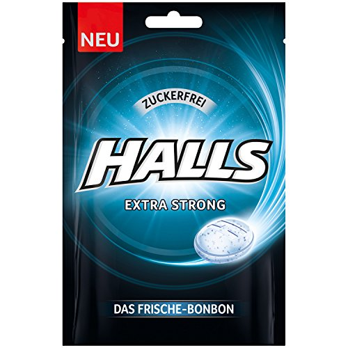 cf7b85f2a0d Halls Bonbons Extra Strong Sugar Free 65 g/Fresh Candy Eucalyptus Menthol