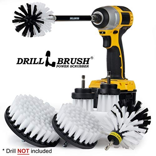 Drill Brush Ultimate Automotive Cleaning Kit With
