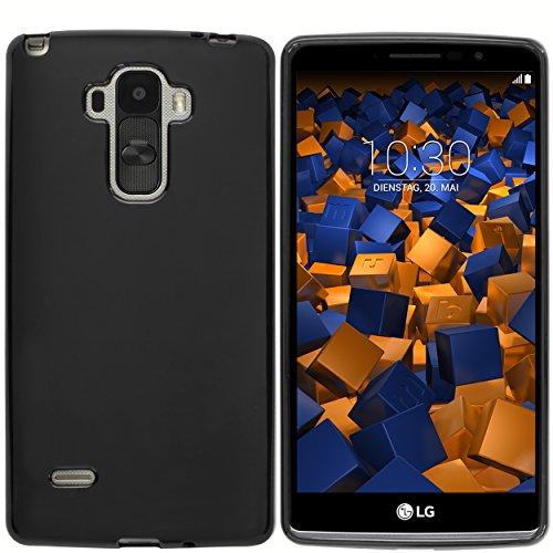 mumbi TPU Hülle kompatibel mit LG G4, schwarz