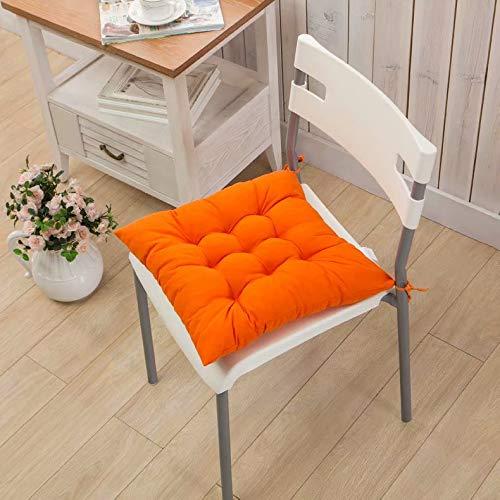 Cojín de silla acolchado de color liso cojín de silla Cojín de...