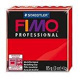 Staedtler 8004-200 - Fimo Professional Normalblock, 85 g, rot