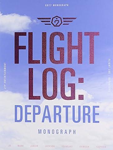 [FLIGHT LOG:DEPARTURE GOT7 MONOGRAPH] DVD+Photobook+Postcard+Standingphoto NEW