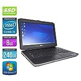 Dell Latitude E5430 - PC portable - 14'' - Gris (Intel Core i5 3320M / 2.60 GHz, 8 Go de RAM, Disque dur 240 Go SSD, Graveur DVD, HDMI, Webcam, Wifi, Windows 7 Professionnel)