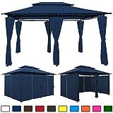 Pavillon 4x3 m blau