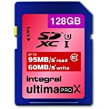 Integral Europe INSDX128G10-95/60U1 Carte mémoire SDXC Classe 10 128 Go