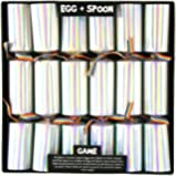 12 Egg & Spoon Game Christmas Crackers