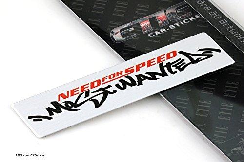 Preisvergleich Produktbild D633 Need for Speed auto aufkleber top 3D Emblem Badge Schriftzug car Sticker