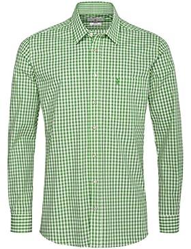 Almsach Trachtenhemd Vitus Regular Fit in Apfelgrün Inklusive Volksfestfinder