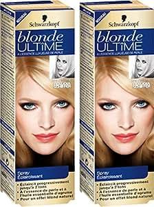 Schwarzkopf Blonde Ultime - Spray Eclaircissant - Lot de 2