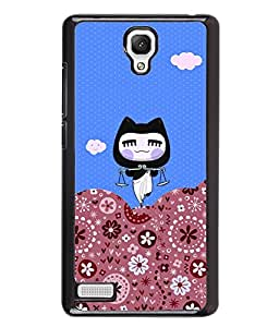PrintVisa Metal Printed Kartoon Designer Back Case Cover for Xiaomi Redmi Note-D4820