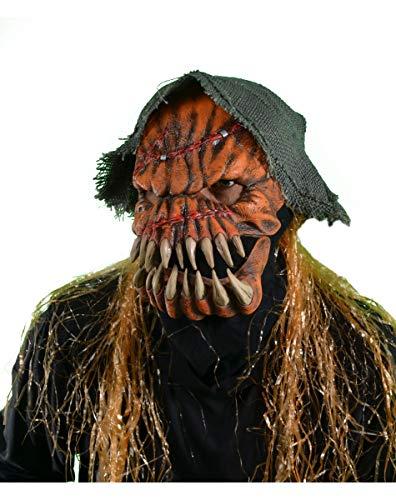 Kürbis Monster Halloween Maske mit beweglichem Kiefer