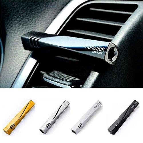Koltorahmcr - Ambientador de lujo para automóvil, clip para la rejilla de...