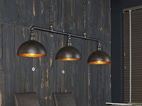 Esstischlampe Hängelampe Factory Industrial Design halbrunde Schirme