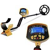 Goplus MD-3010II Metal Detector Gold Digger Deep Sensitive Light Hunter LCD Display