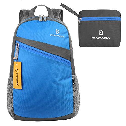 Imagen de fafada 30l  ultra ligera plegable bolsa de viaje,ideal para alpinismo escalada marcha viaje trekking camping deporte al aire libre azul