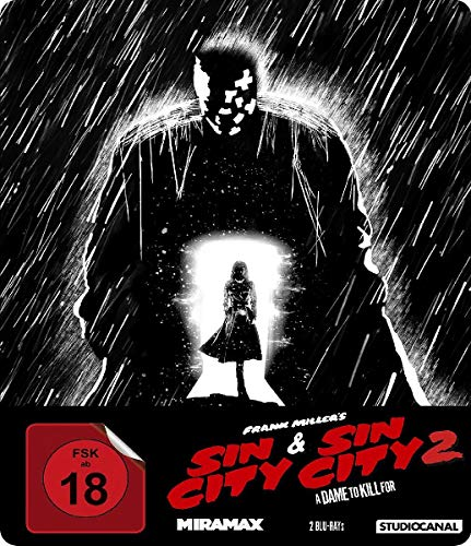 Sin City 1 & 2 - Steelbook [Blu-ray]