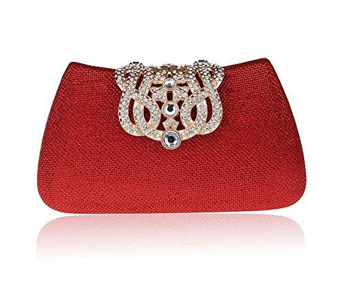 borsa fibbia Mini diamante/borsa da sera di moda/Di alta qualità per banchetti/pacchetto nuziale/Ms. frizione-E C