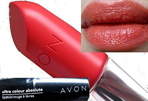 Absolute Lippenstift Farbe Ultra in Coral Federn Schatten von Avon