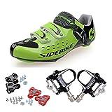 Skyrocket Chaussures de route Chaussures de vélo avec système de fixation aux pédales
