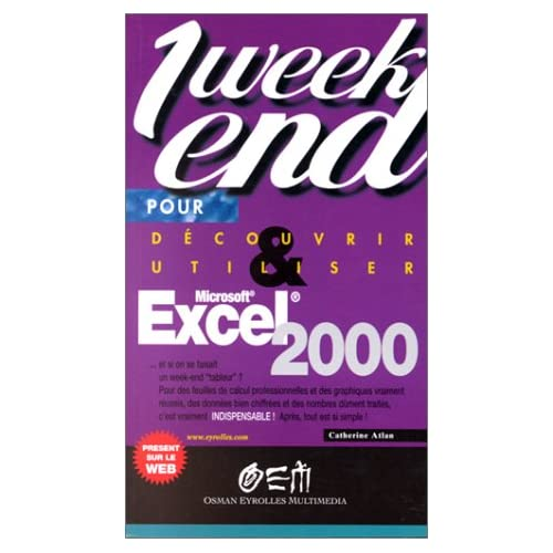 Excel 2000 1 week end