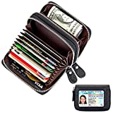 Kartenetui | Kreditkarten etuis | Leder Kreditkartenetui | Geldbörse für Damen und Herren | Geldbeutel mit RFID Schutz
