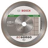 Bosch ProfessionalDiamanttrennscheibe Best für Ceramic Extra-Clean Turbo, 230 x 22,23 x 1,8 x 7 mm, 2608603597