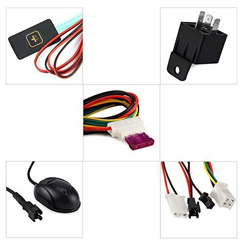 51ZG2ity0tL - Localizador GPS/GSM/GPRS de seguimiento para vehículos, alarma de seguimiento antirrobo de marcación SMS, plataforma gratuita de seguimiento en línea