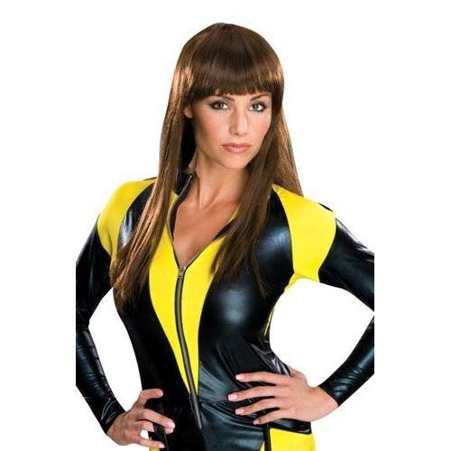 Watchmen Silk Spectre Deluxe Perücke Damen Kostüm Superheldin Superhelden Held (Watchmen Silk Spectre Kostüm)