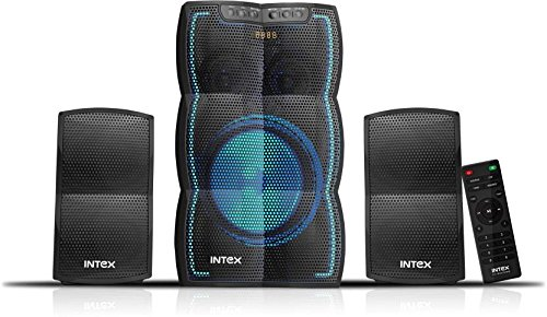 Intex lT-3510 FMUB 2.1 Channel Multimedia Speaker (Black)