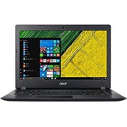 """Acer A114-31-C3MM Aspire 1 - Ordenador portátil de 14"""" HD (Intel Celeron N3350, 4 GB de RAM, 32 GB eMMC, Intel HD Graphics, Windows 10S) negro - Teclado QWERTY Español [España]"""