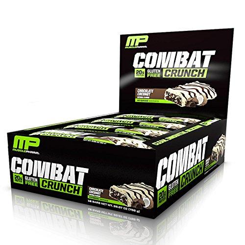MusclePharm Combat Crunch Bars (12x63g) Chocolate Coconut, 756 g
