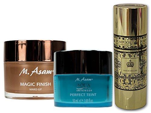 M. Asam Magic Finish 30ml + AquaIntense Perfect Teint 50ml + POMPÖÖS DESIGN by Harald Glöckler Serum Deluxe 50ml
